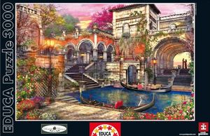 Rompecabezas Romance en Venecia (3000 pzas.)