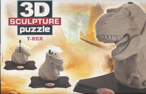 R.C. 3D SCULPTURE PUZZLE T REX 160 PZAS
