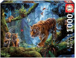 R.C. TIGRES EN EL ARBOL 1000 PZAS. EDUCA