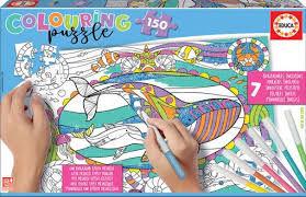 Rompecabezas Colouring Vida Marina (150 pzas.)