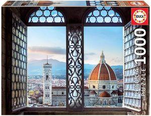 Rompecabezas Vistas de Florencia, Italia (1000 Piezas)