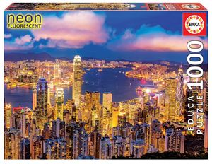 Rompecabezas Hong Kong. Neón (1000 Piezas)
