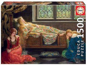 Rompecabezas Bella durmiente (1500 Piezas)