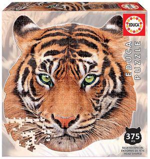 Rompecabezas Cara de tigre (375 Piezas)