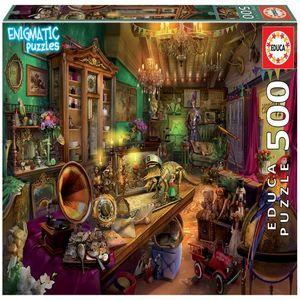 Rompecabezas Tienda de antigüedades Enigmatic Puzzle (500 pzas.)