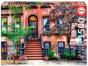 Rompecabezas Greenwich Village, New York (1500 pzas.)