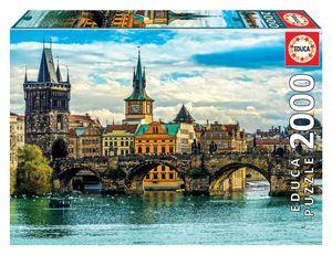 Rompecabezas Vistas de Praga (2000 pzas.)