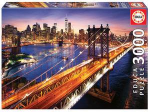 Rompecabezas Manhattan al Atardecer (3000 pzas.)