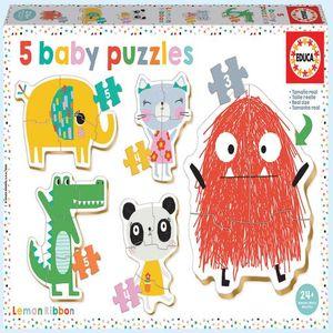 Rompecabezas Baby Puzzles Lemon Ribbon (21 pzas.)
