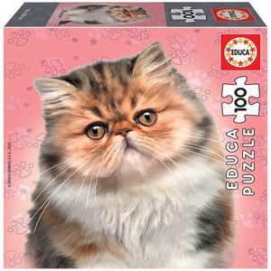 Rompecabezas Gato persian (100 pzas.)