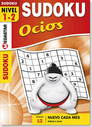Sudoku ocios / 12 ed.