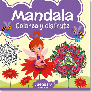 Mandala colorear y disfruta #15