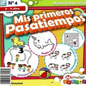 MIS PRIMEROS PASATIEMPOS / 3 ED.