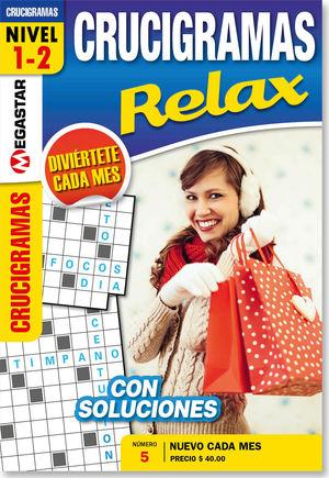 Crucigramas relax / 5 ed.