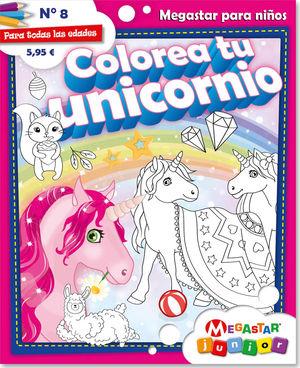 Colorea tu unicornio #8