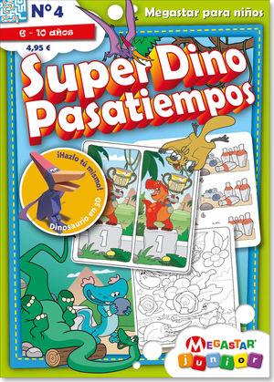 Súper Dino Pasatiempos #4