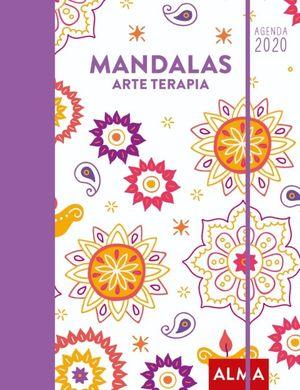 AGENDA MANDALAS ARTE TERAPIA 2020