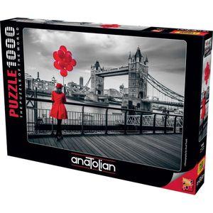 Rompecabezas Londres blanco y negro (1000 pzas.)
