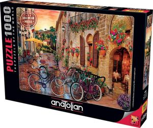 Rompecabezas Bicicletas en la Toscana (1000 pzas.)