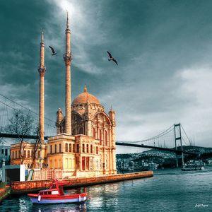 Rompecabezas Mezquita de Ortakoy Turquía (1000 pzas.)