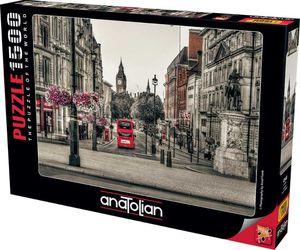 Rompecabezas Vista de Londres Blanco y Negro (1500 pzas.)