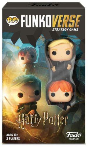 Funkoverse Harry Potter Strategy Games - Draco Malfoy - Ron Weasley (versión base en inglés) / Funko Games
