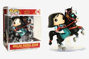 Mulan - Mulan montando a Khan / Funko Pop! Disney #76