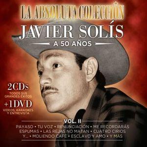 JAVIER SOLIS A 50 AÑOS / VOL. 2 / 2 CD + DVD