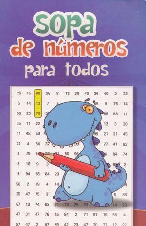 SOPAS DE NUMEROS PARA TODOS