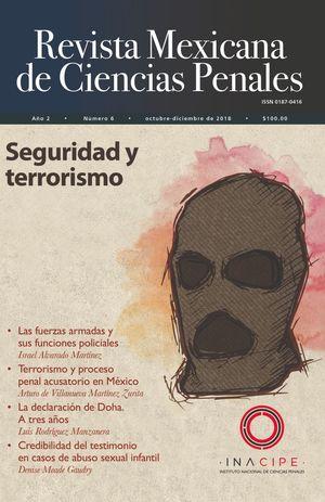 REVISTA MEXICANA DE CIENCIAS PENALES. SEGURIDAD Y TERRORISMO