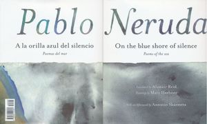 A la orilla azul del silencio. Poemas del mar / On the blue shore of silence. poems of the sea / Pd.