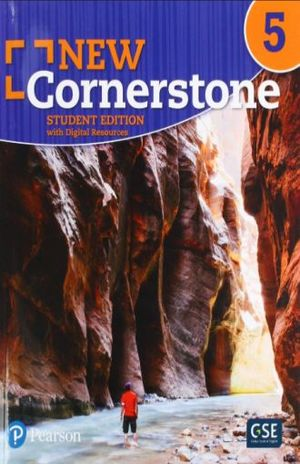 NEW CORNERSTONE / STUDENT EDITION WITH DIGITAL RESOURCES GRADE 5