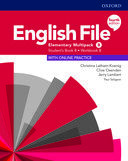 English File. Elementary Multipack B with online practice / 4 ed.