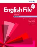 English File. Elementary Workbook with key / 4 ed.
