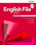 English File. Elementary Workbook without key / 4 ed.