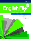 English File. Intermediate Multipack B with online practice / 4 ed.