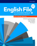 English File. Pre-intermediate Multipack B with online practice / 4 ed.