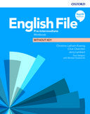 English File. Pre-intermediate Workbook without key / 4 ed.