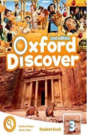 OXFORD DISCOVER 3 (STUDENT BOOK WITH APP PACK) / 2 ED.