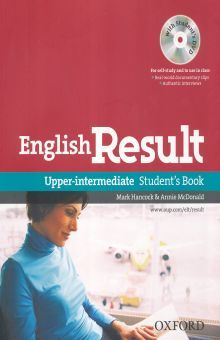 ENGLISH RESULT UPPER INTERMEDIATE. STUDENTS BOOK (WITH DVD)