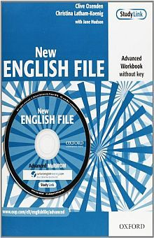 NEW ENGLISH FILE ADVANCED. WORKBOOK WITHOUT KEY AND MULTIROM PACK