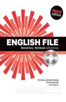 ENGLISH FILE ELEMENTARY. WORKBOOK AND ICHECKER PACK / 3 ED.