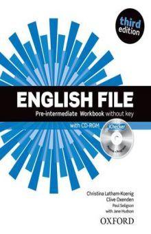 ENGLISH FILE PRE-INTERMEDIATE. WORKBOOK AND ICHECKER PACK / 3 ED.