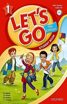 LETS GO 1 STUDENT BOOK / 4 ED. (INCLUYE CD)