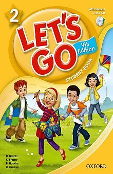 LETS GO 2 STUDENT BOOK / 4 ED. (INCLUYE CD)