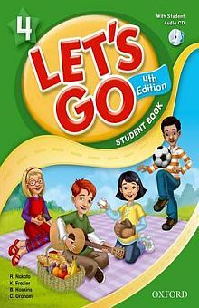 LETS GO 4 STUDENT BOOK / 4 ED. (INCLUYE CD)