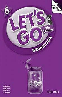 LETS GO 6 WORKBOOK / 4 ED.