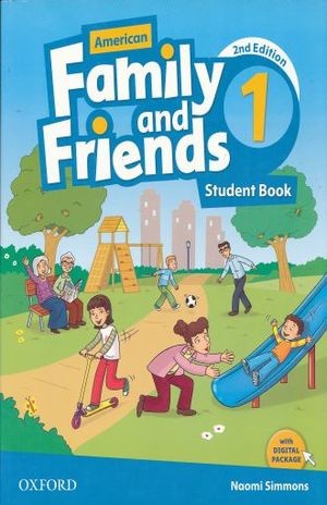 AMERICAN FAMILY & FRIENDS 1 STUDENT BOOK / 2 ED.