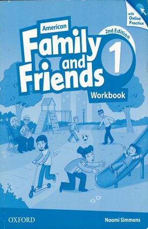 AMERICAN FAMILY & FRIENDS 1 WORKBOOK / 2 ED.
