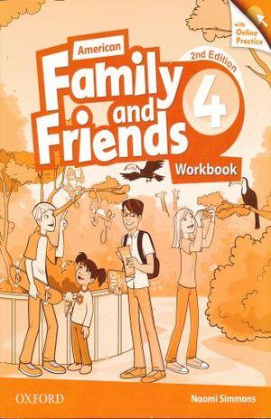 AMERICAN FAMILY & FRIENDS 4 WORKBOOK / 2 ED.